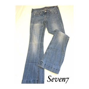 Seven7 Pull-On Denim Jeans